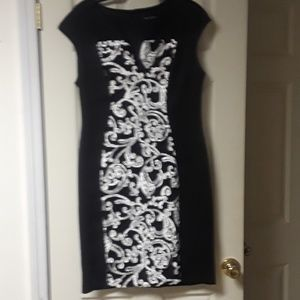 Dresses Gorgeous Black Dress With Print Flowers Poshmark